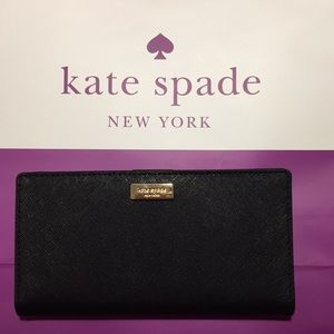 NWT Kate Spade Wallet in Black